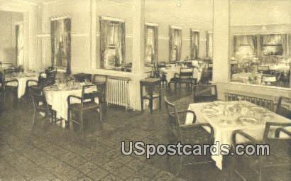 Dining Room, Carolina Inn - Summerville, South Carolina SC Postcard