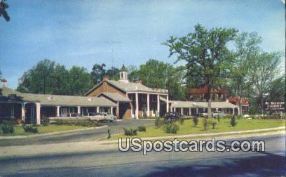 Mt Vernon Court - Sumter, South Carolina SC Postcard