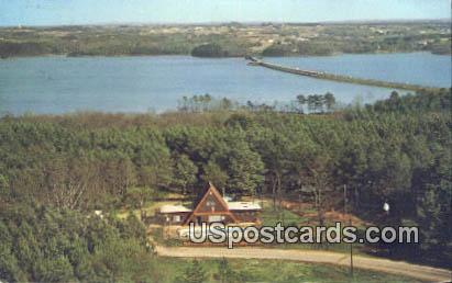 Lake Hartwell KOA Family Campground - Anderson, South Carolina SC Postcard