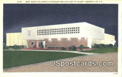 Bob Jones University Museum & Gallery - Greenville, South Carolina SC Postcard