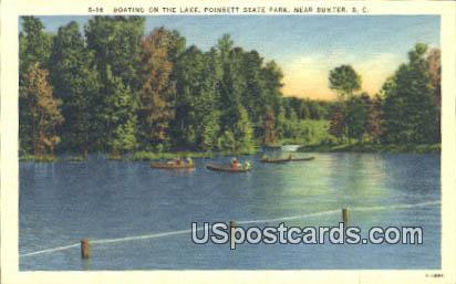 Lake, Poinsett State Park - Sumter, South Carolina SC Postcard