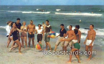 Ocean Drive Beach, SC Postcard     ;     Ocean Drive Beach, South Carolina