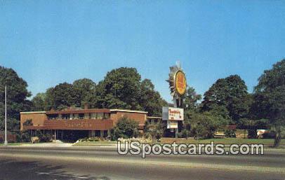 Thunderbird Inn - Orangeburg, South Carolina SC Postcard