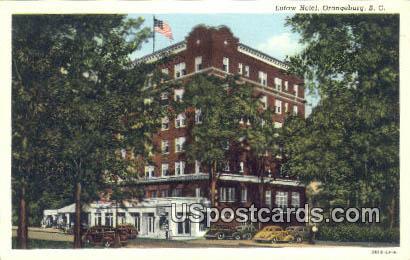 Eutaw Hotel - Orangeburg, South Carolina SC Postcard