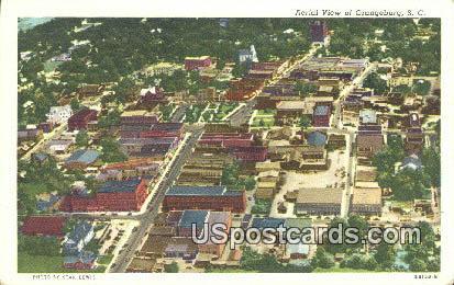 Orangeburg, SC Postcard     ;     Orangeburg, South Carolina