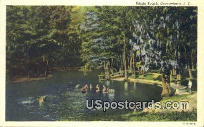Edisto Beach - Orangeburg, South Carolina SC Postcard