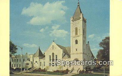 St Paul's Methodist Church - Orangeburg, South Carolina SC Postcard