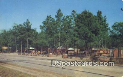 Suburban Pines Motel - Manning, South Carolina SC Postcard