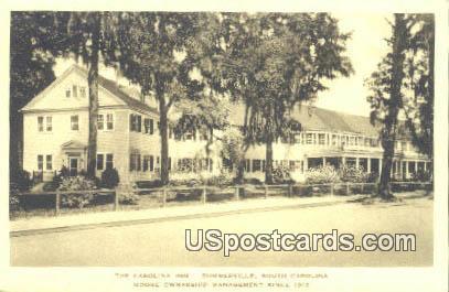 Carolina Inn - Summerville, South Carolina SC Postcard