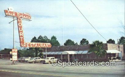 Jack Nolen's Restaurant - Orangeburg, South Carolina SC Postcard
