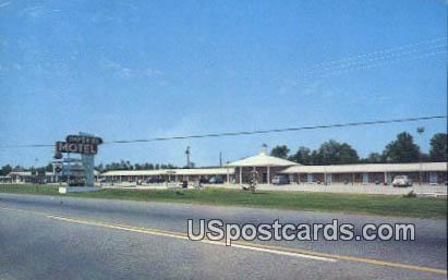 Imperial Motel & Restaurant - Effingham, South Carolina SC Postcard