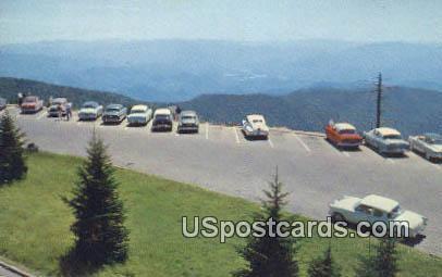 Clingmans Dome Parking Area - Great Smoky Mountains National Park, South Carolina SC Postcard