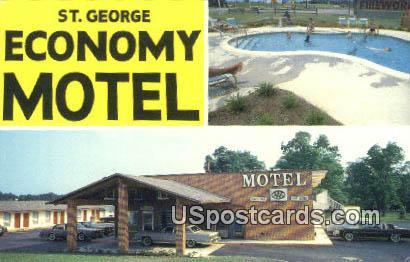 St George Economy Motel - St. George, South Carolina SC Postcard