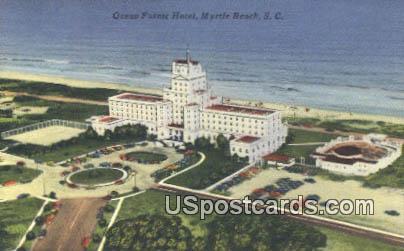 Ocean Forest hotel - Myrtle Beach, South Carolina SC Postcard