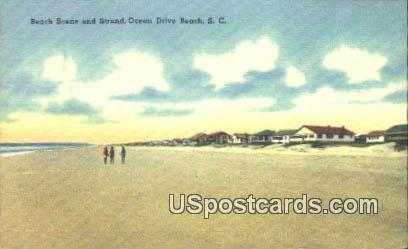 Ocean Drive Beach, South Carolina Postcard      ;      Ocean Drive Beach, SC