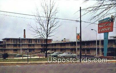 Calhoun Motor Lodge - Anderson, South Carolina SC Postcard