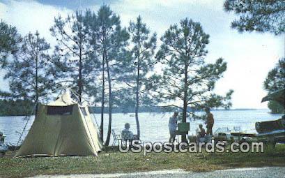 Modoc Camp Site - South Carolina SC Postcard
