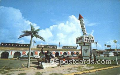 All New Fort Pedro - South of the Border, South Carolina SC Postcard