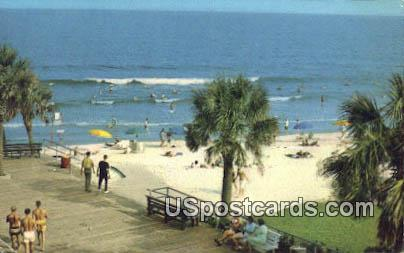 Board Walk - Myrtle Beach, South Carolina SC Postcard