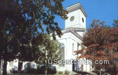 Baptist Church - Beaufort, South Carolina SC Postcard