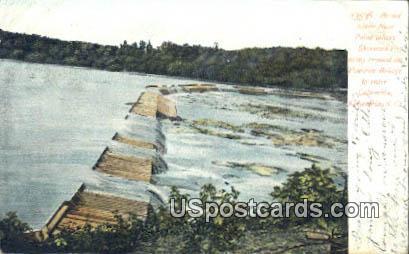Broad River - Columbia, South Carolina SC Postcard