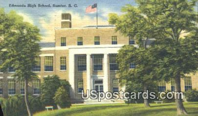 Edmunds High School - Sumter, South Carolina SC Postcard