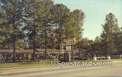 St George Motor Inn - St. George, South Carolina SC Postcard
