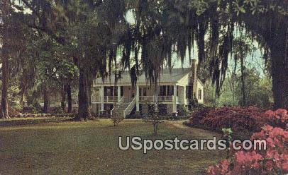 Carolina Low Country Plantation - Florence, South Carolina SC Postcard