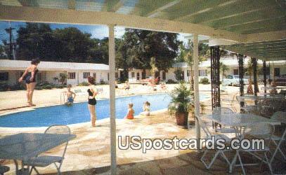 Palms Motel & Restaurant - Ridgeland, South Carolina SC Postcard