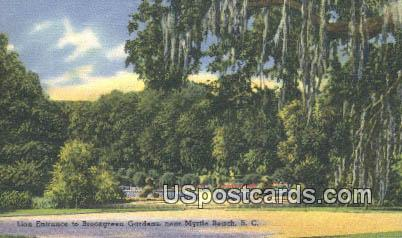 Brookgreen Gardens - Myrtle Beach, South Carolina SC Postcard