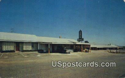 Tower Motel & Restaurant - Fairforest, South Carolina SC Postcard