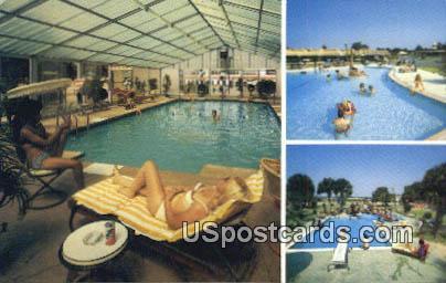 Pools - South of the Border, South Carolina SC Postcard