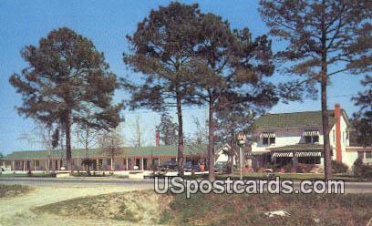 Breezewood Motel & Coffee Shop - Florence, South Carolina SC Postcard