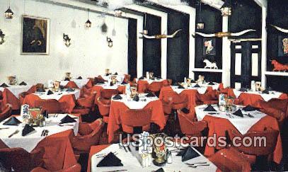 El Toro Steak Room - South of the Border, South Carolina SC Postcard