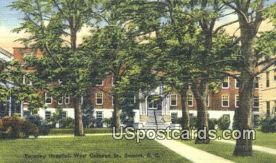 Twomey Hospital - Sumter, South Carolina SC Postcard