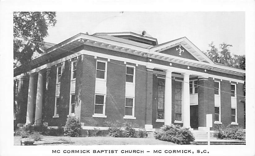 McCormick   SC