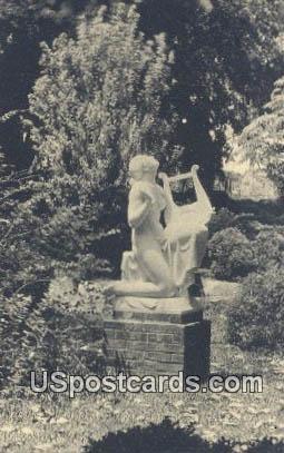 Sonata, Mario Korbel, Brookgreen Gardens - South Carolina SC Postcard