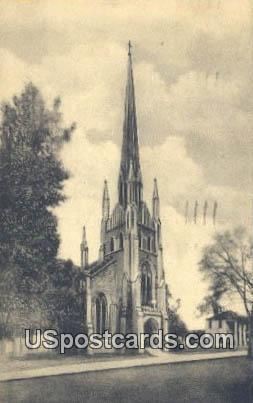 Trinity Episcopal Church - Abbeville, South Carolina SC Postcard