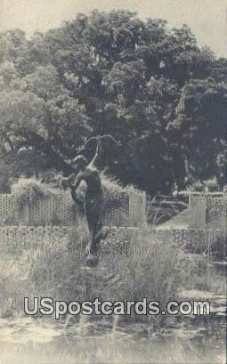 Diana Pool, Brookgreen Gardens - South Carolina SC Postcard