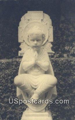 Christ Child - Brookgreen Gardens, South Carolina SC Postcard