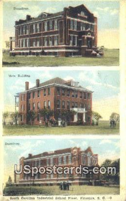 South Carolina Industrial School Plant - Florence Postcard
