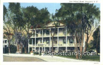 Sea Island Hotel - Beaufort, South Carolina SC Postcard