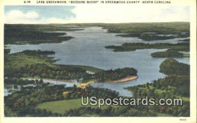 Lake Greenwood - Greenwood County, South Carolina SC Postcard