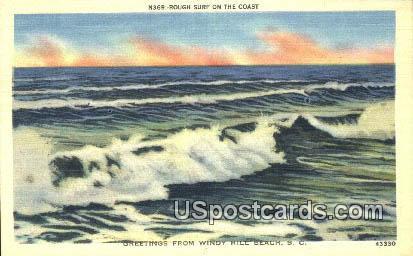 Windy Hill Beach, South Carolina Postcard      ;      Windy Hill Beach, SC