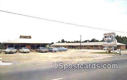King Haiglar Motel & Restaurant - Lugoff, South Carolina SC Postcard