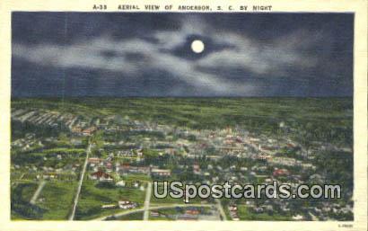 Anderson, South Carolina Postcard      ;      Anderson, SC