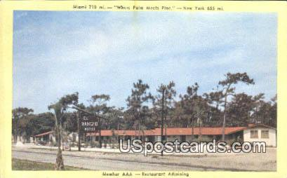 El Rancho Motel - Myrtle Beach, South Carolina SC Postcard