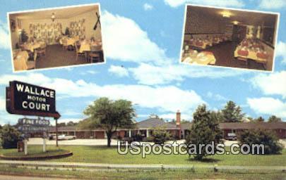 Wallace Motor Court & Dining Room - South Carolina SC Postcard