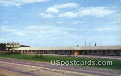 Southerner - Anderson, South Carolina SC Postcard