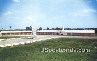 Shamrock Motel - Gaffney, South Carolina SC Postcard